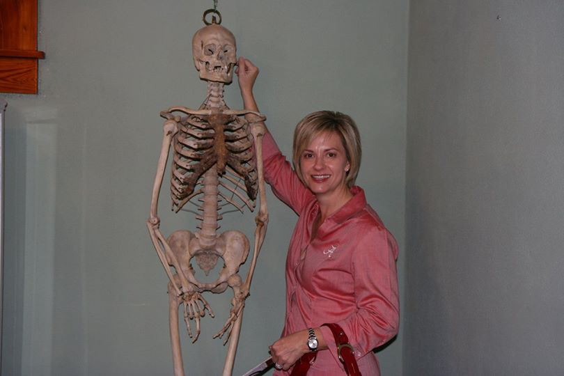 Skeleton at Medical Museum- 2