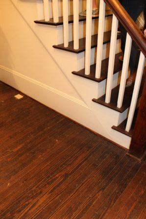 Drish House floor