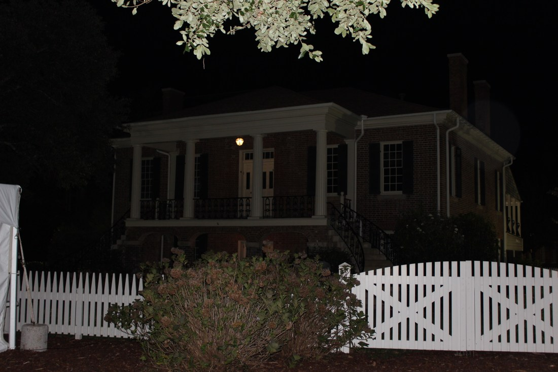Haunted _Gorgas House night