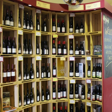 New Zealand Wine shop
